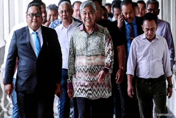Zahid withdraws application for return of passport