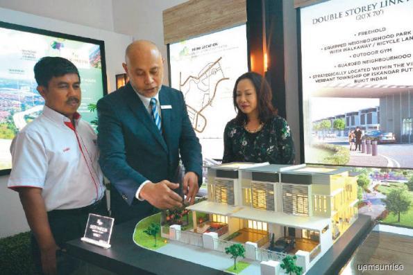 Strong response to UEM Sunrise's Serimbun in Johor