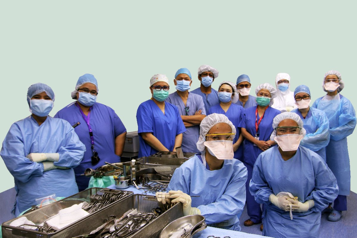 Sunway Medical Centre's multidisciplinary team performed the hospital's first successful living-donor kidney transplant in July 2020