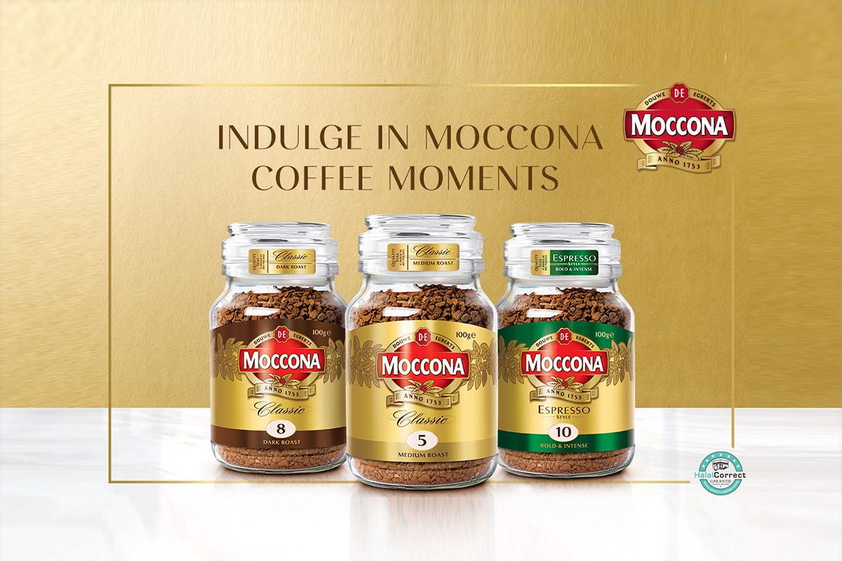 Moccona creates coffee moments for absolute indulgence