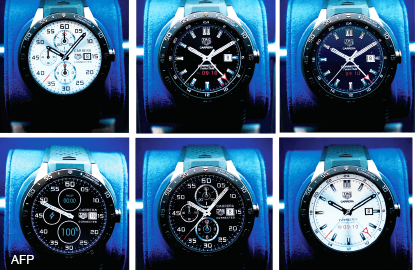 TAG Heuer unveils high-end rival to Apple Watch