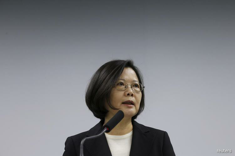Taiwan president wins ruling party's nomination for 2020 election: media