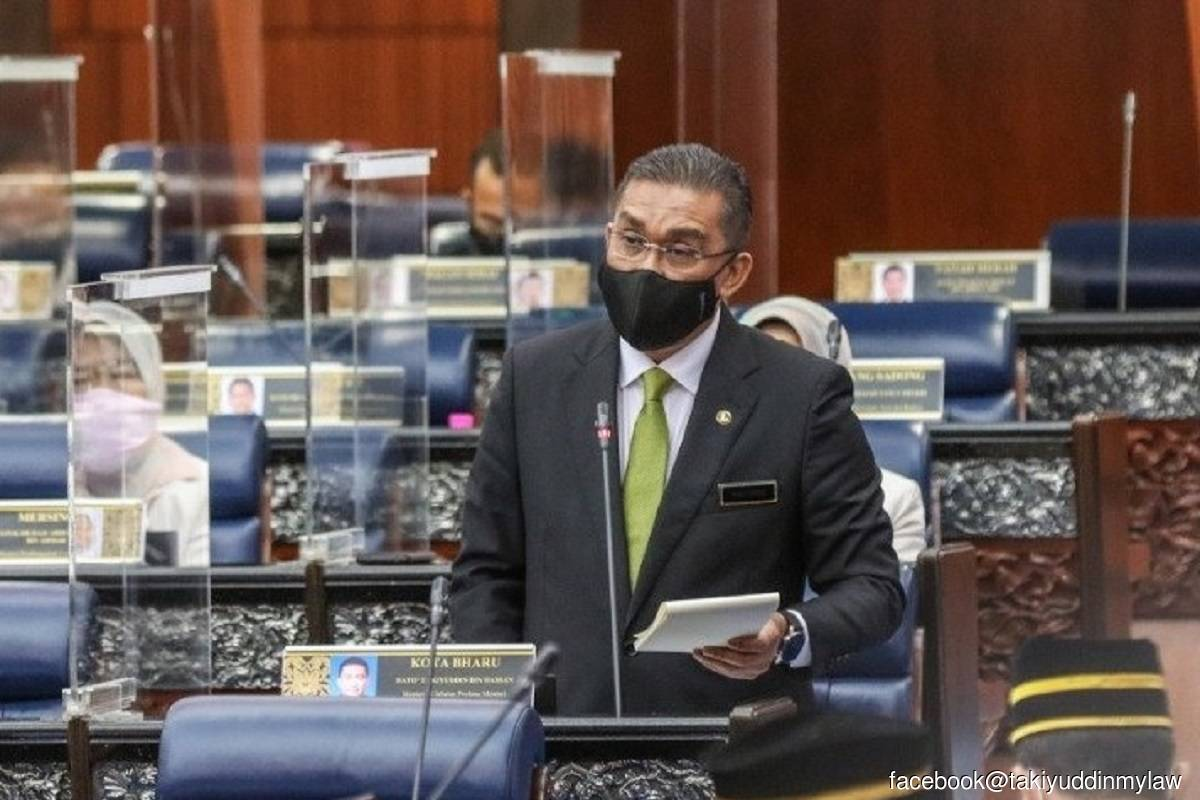Takiyuddin in self-quarantive