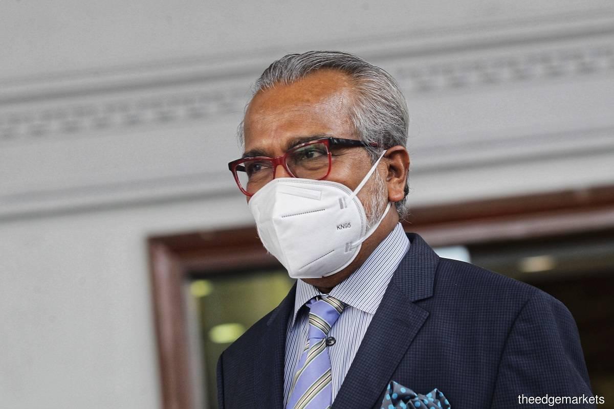 Tan Sri Muhammad Shafee Abdullah (Photo by Zahid Izzani Mohd Said/The Edge)