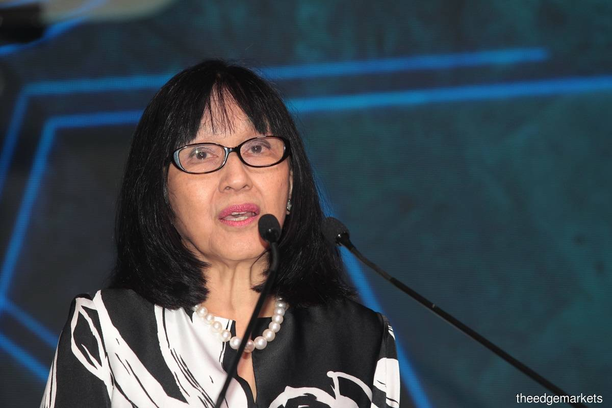 Tan Sri Zarinah Anwar (Photo by Suhaimi Yusuf/The Edge)