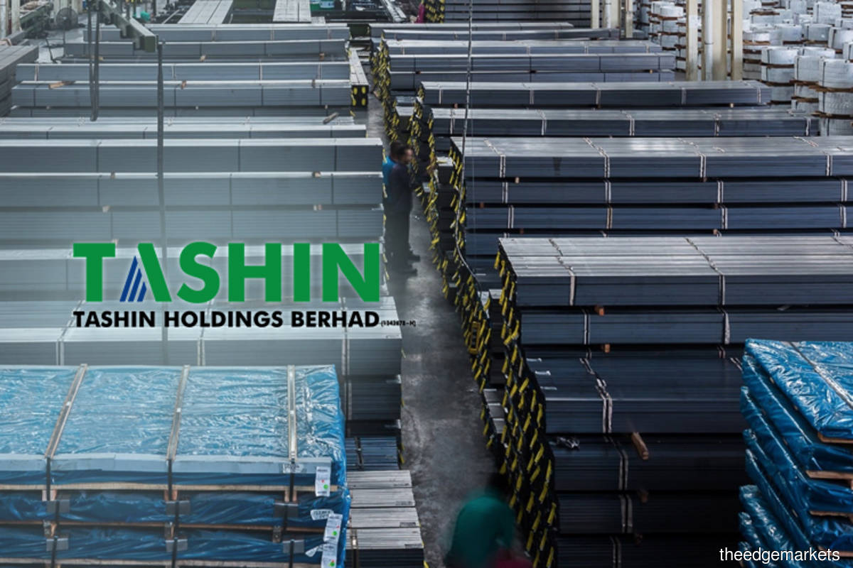 Tashin rises as much as 5.59% after net profit soared to RM12.23m