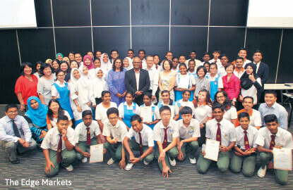 Students 'graduate' from The Edge Education Foundation's PACE