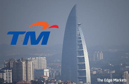 TM's 3Q net profit falls 4.2% on year, revenue flat at RM2.92b