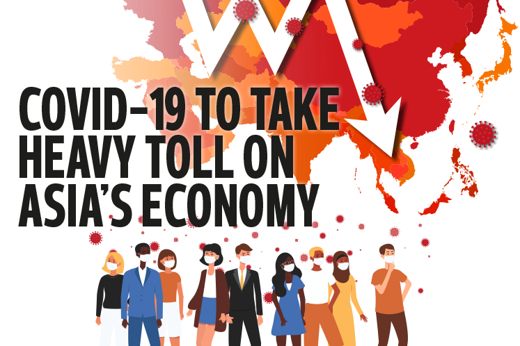 Covid-19 to take heavy toll on Asia's economy