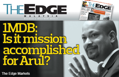 Is it mission accomplished for Arul Kanda at 1MDB?
