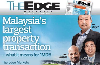 1MDB's Bandar Malaysia deal a major milestone