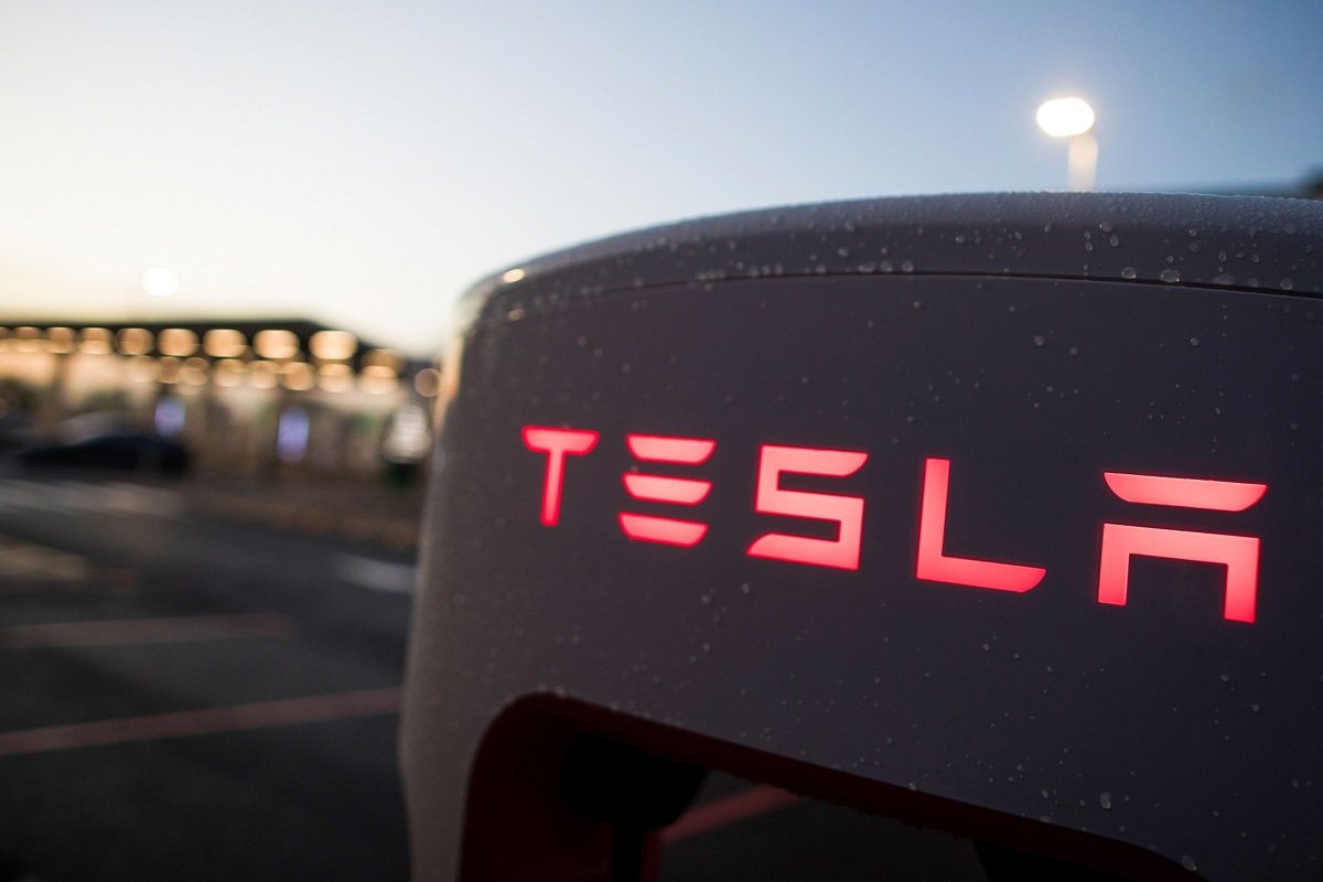 Tesla slides on first day of trading on S&P 500 Index