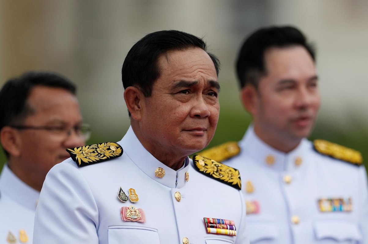 Thai PM hints at more legal action against protest leaders