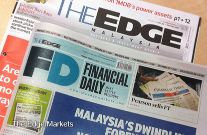 The Edge Financial Daily to hit the streets tomorrow