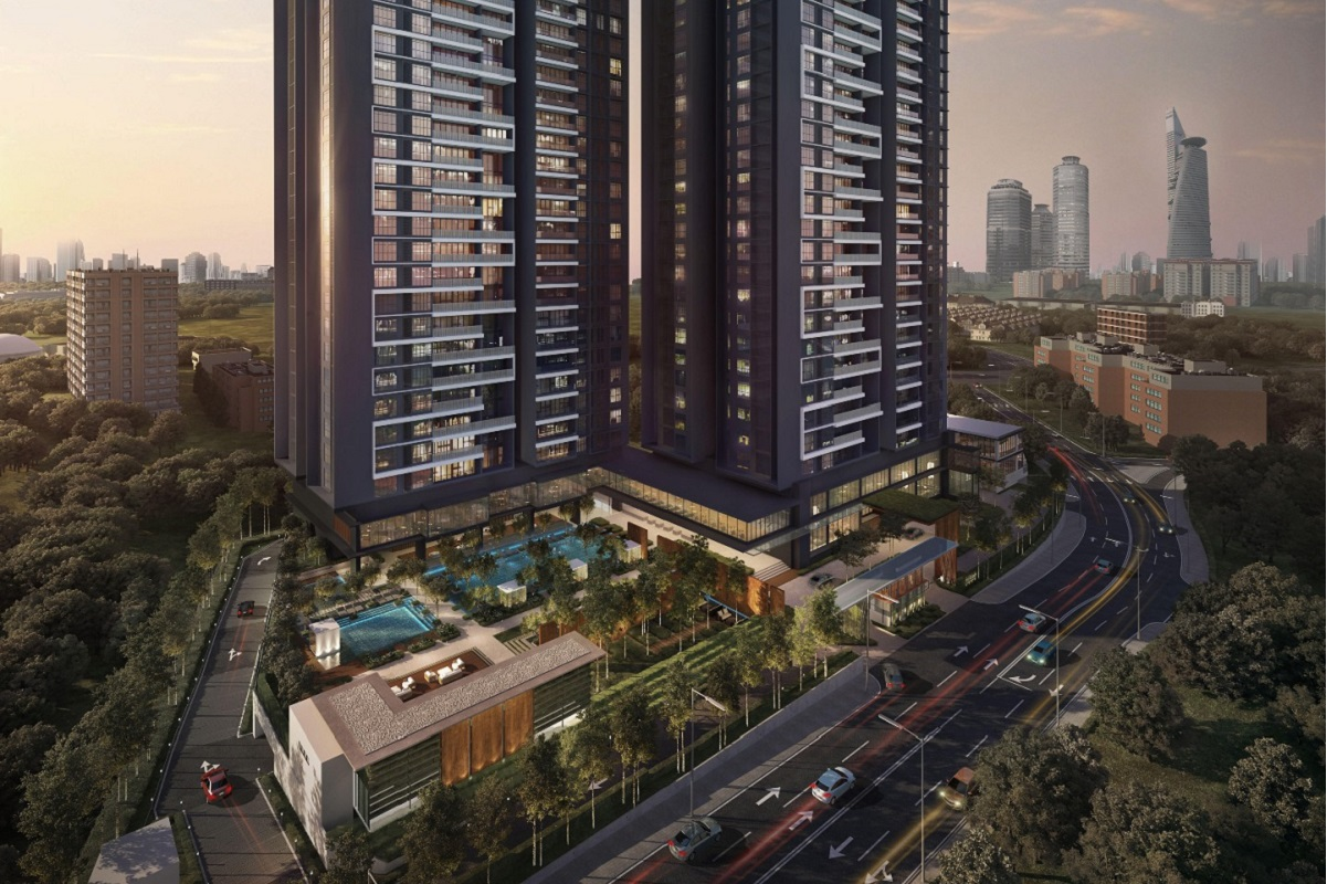 The Estate in South Bangsar has a take-up rate of 95%.