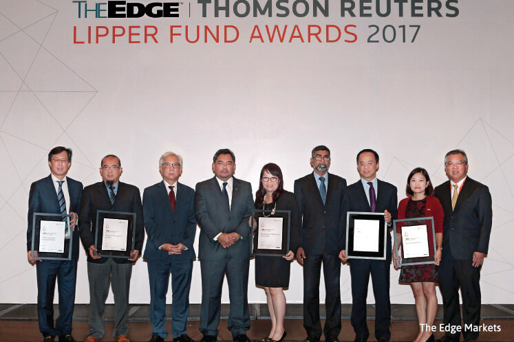 2017 TheEdge Thomson Reuters Lipper Fund Awards: Eastspring and Manulife biggest winners at this year's awards