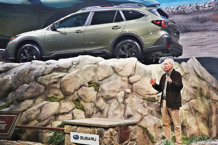 Subaru outback now turbo for hikers in a hurry