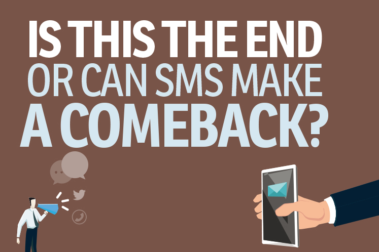 Is this the end or can SMS make a comeback?