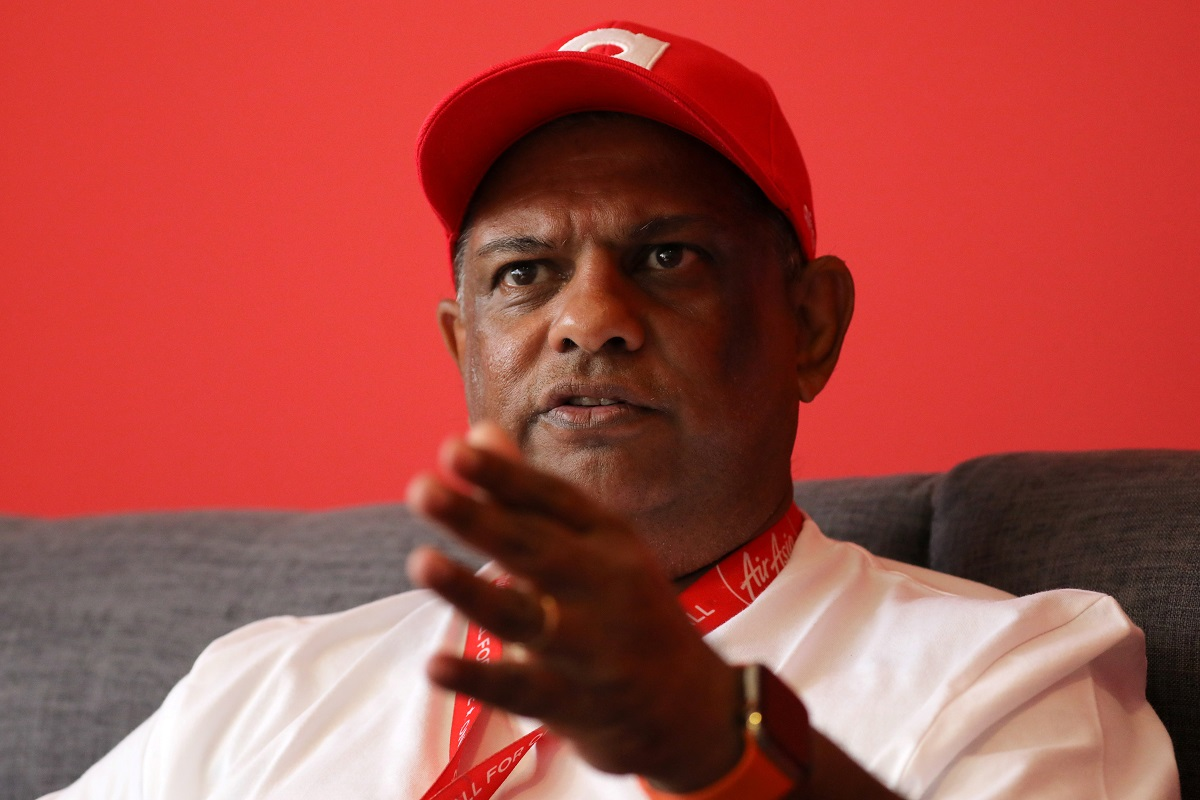 As Covid-19 bites, AirAsia group CEO Tony Fernandes says 'cannot live in a cave for the rest of our lives'