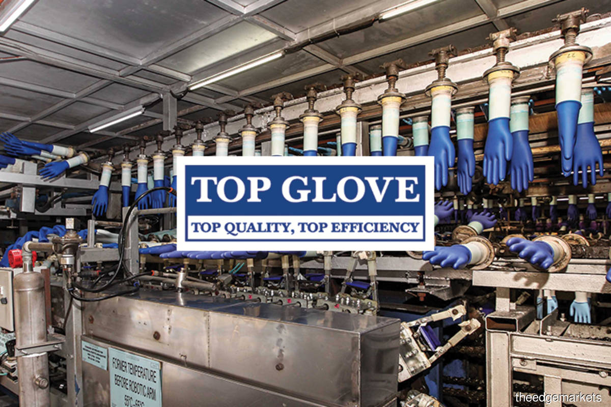 Top Glove spends lower amount on 13th day of share buyback