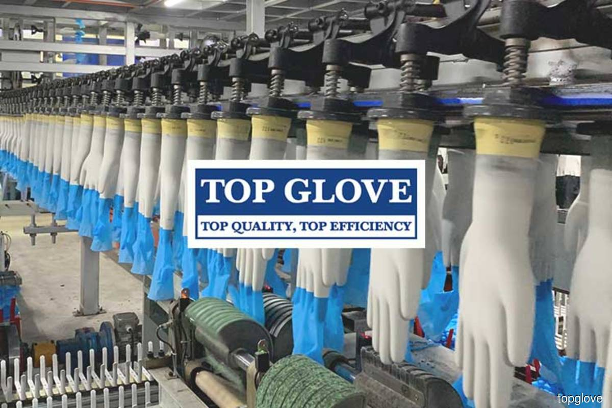 Top Glove spent about half its RM1.87b profit for FY20 on share buybacks since September