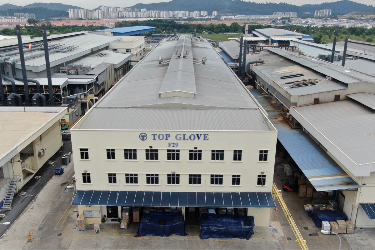 Top Glove says employees in four factories test positive for Covid-19
