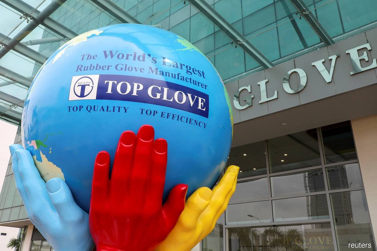 Top Glove 4Q net profit sinks 70% q-o-q and 48% y-o-y to RM608m, dragged by lower sales volume, ASPs on normalised demand