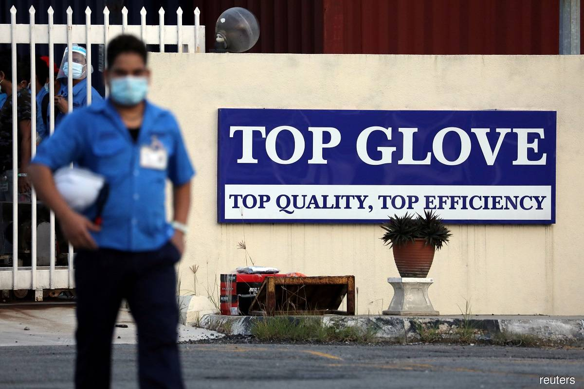 Top Glove declares 20% special dividend for remaining three quarters of FY21