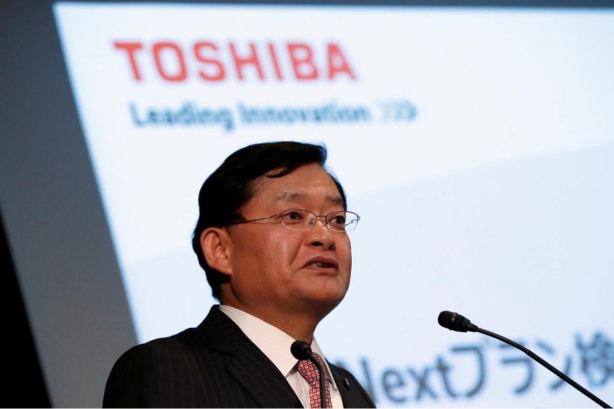 Toshiba Chief Executive Nobuaki Kurumatani
