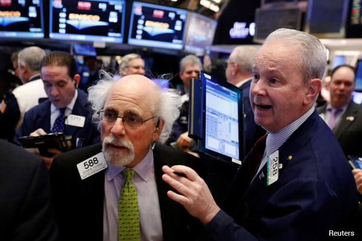 Choppy day on Wall St; all eyes on Trump and healthcare
