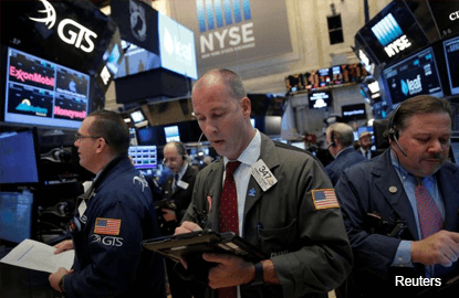 Dow hits 12th record high close; Trump talks up infrastructure spending