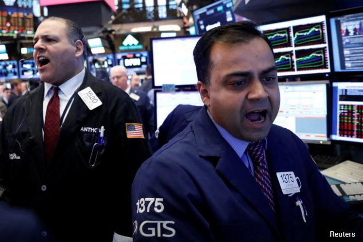 Energy, consumer shares lift S&P 500 to slight gain