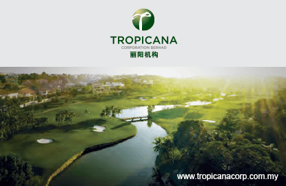 Tropicana reports fourfold increase in 3Q net profit, pays 5 sen dividend