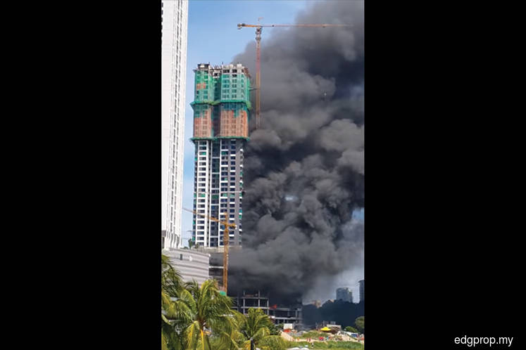 No casualties in Tropicana Gardens fire at Kota Damansara