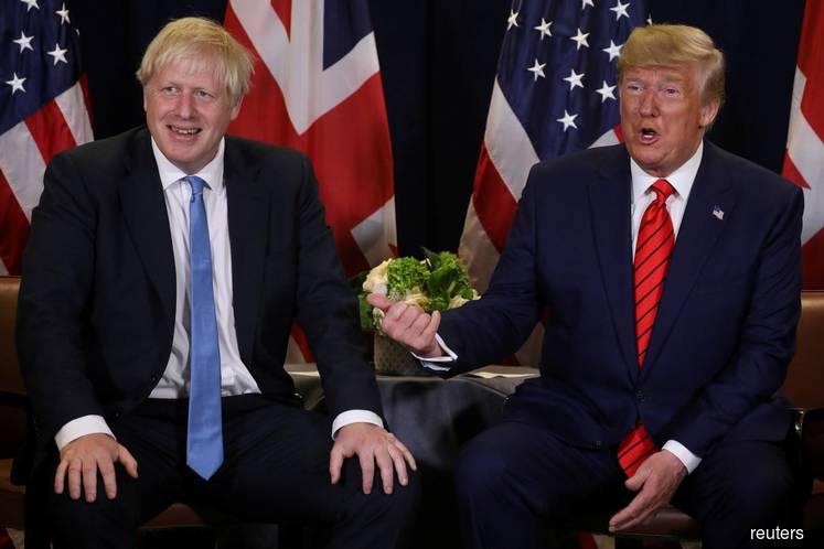 US President Trump says UK PM Boris Johnson 'very capable'