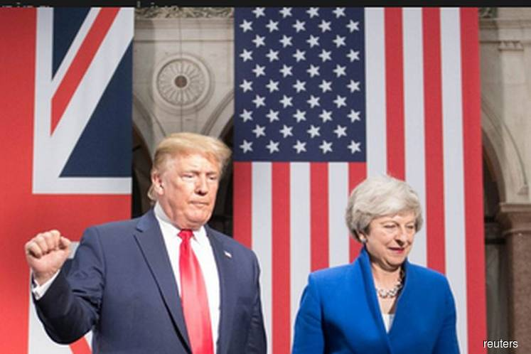 Trump promises UK a 'phenomenal' post-Brexit trade deal, solution to Huawei discord