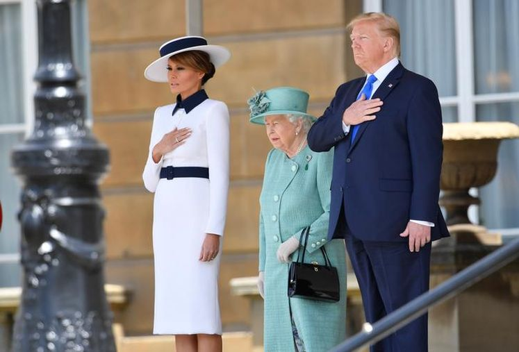 Donald Trump gets the royal treatment on state visit to UK