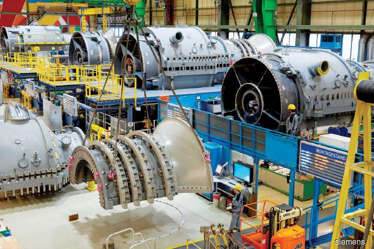 Siemens hopeful of winning M'sian gas turbine order
