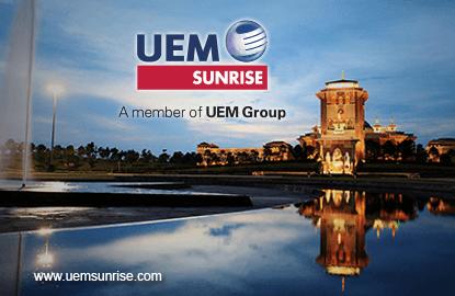 UEM Sunrise's 2Q net profit falls 35% on year, revenue up