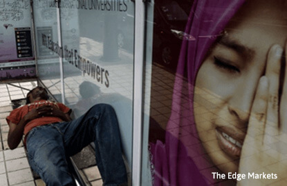 Rising jobless numbers challenges Malaysia's 2020 high income nation goal, says economist