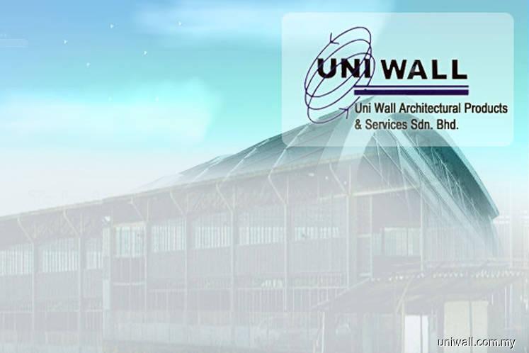 Uni Wall获Crest Builder颁2125万令吉分包合约