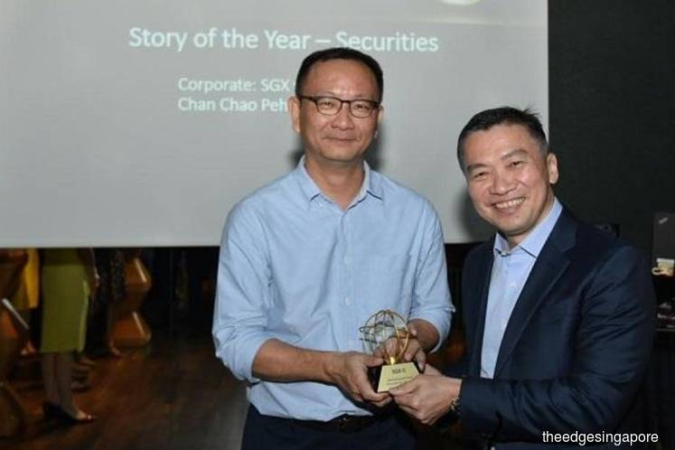 The Edge Singapore wins 'Story of the Year' from inaugural SGX Orb Awards