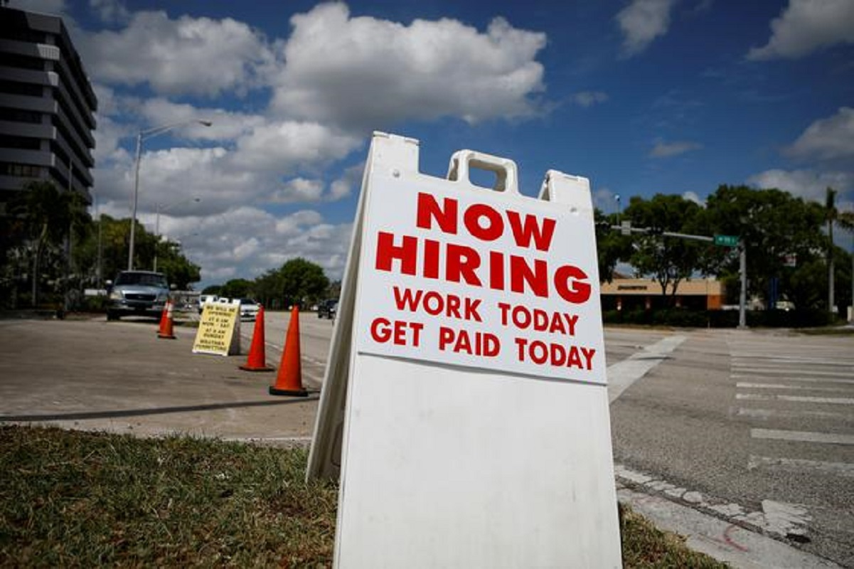 US employment likely accelerated in June as companies boost perks for workers