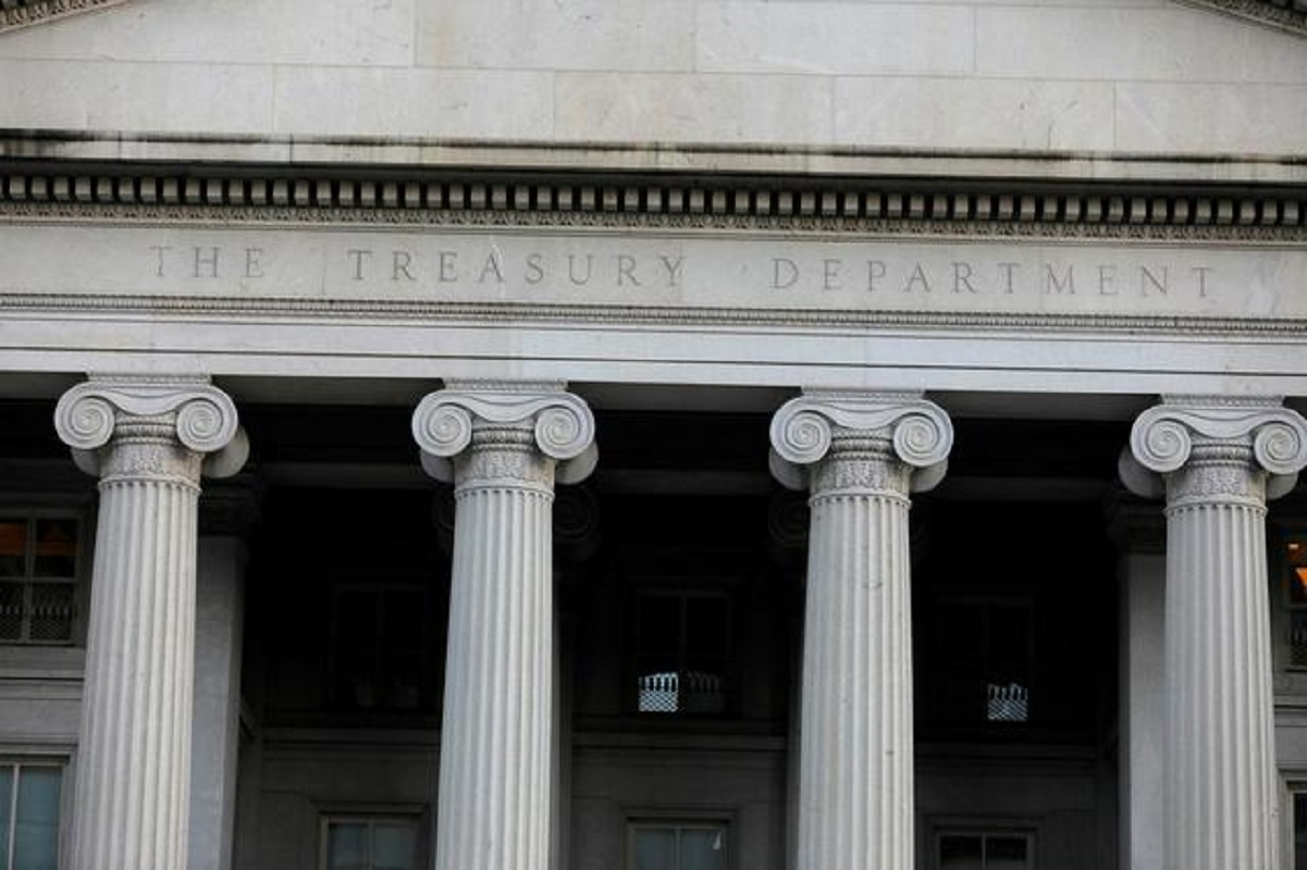 US 2021 fiscal year deficit below prior year's record, Treasury says