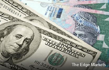 大华银行:令吉兑美元汇率波动介于4.1和4.4 但年终趋强