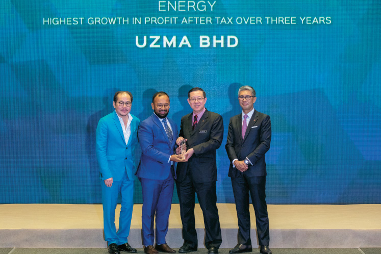 Highest growth in profit after tax over three years: ENERGY: Uzma - Perseverance in the face of low oil prices