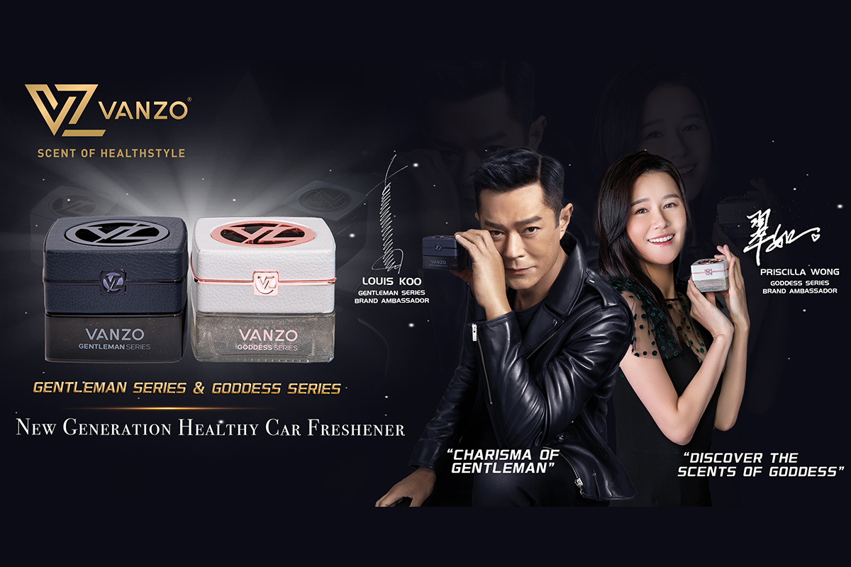 VANZO, the first Malaysia brand endorsed by Hong Kong Super Star Louis Koo