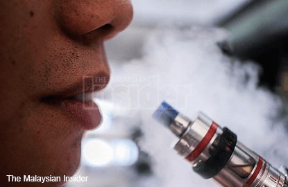 Selangor to push for meeting over vaping issue