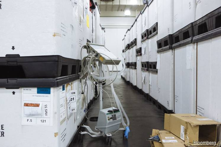 Ventilator makers can speed up, but they face shortages of parts