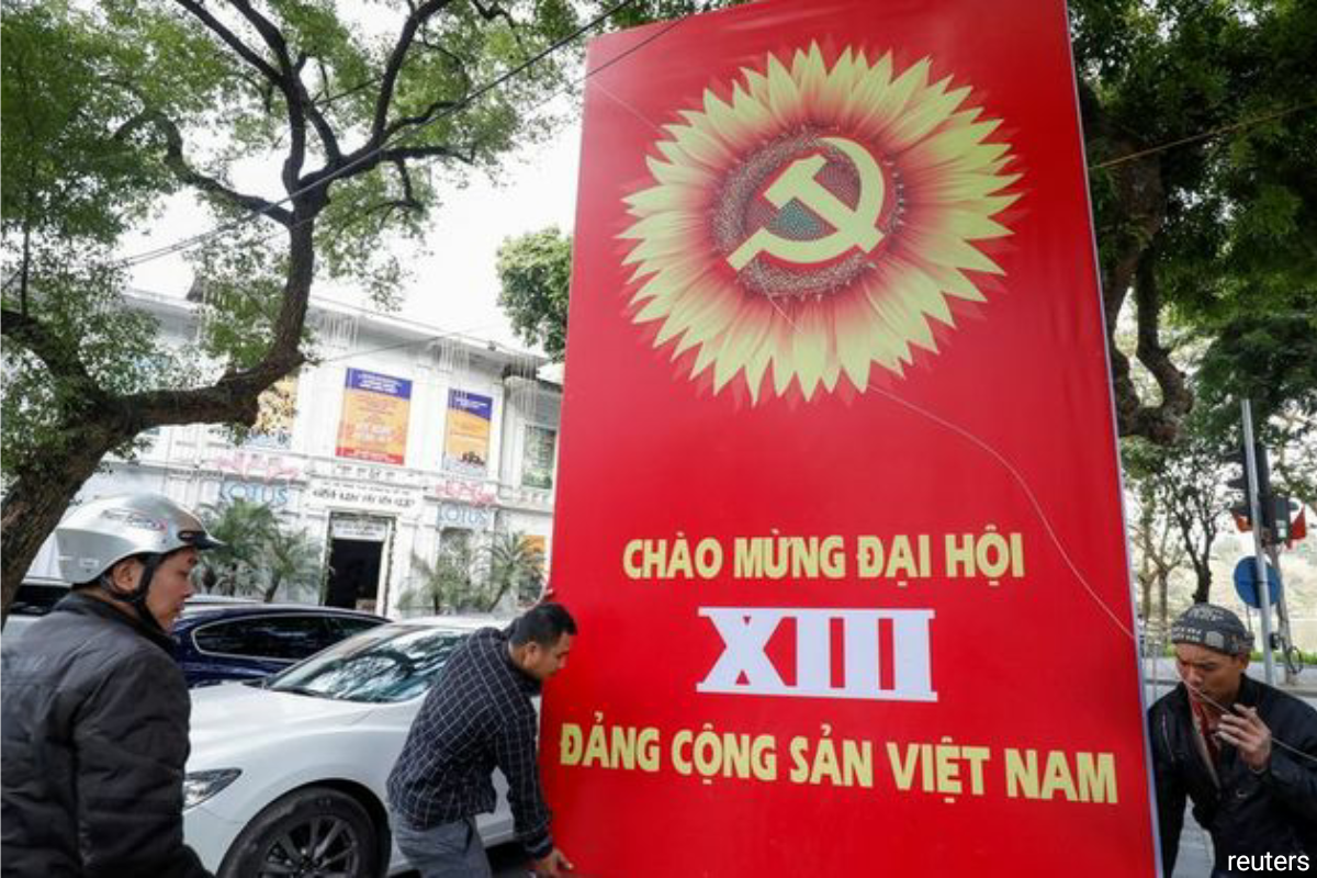 The event, the 13th congress since the Communist Party of Vietnam was established in 1930, brought nearly 1,600 delegates from across the country to Hanoi.